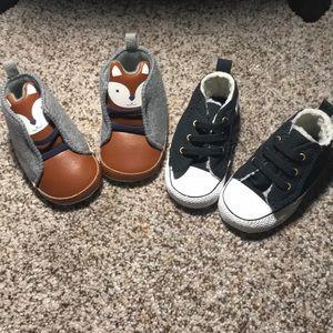 Baby shoe bundle NWOT
